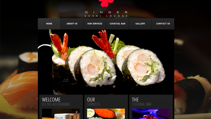 Ginger Sushi Lounge (2013)